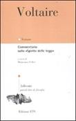 Commentario sullo «Spirito delle leggi». Testo francese a fronte Libro di Voltaire