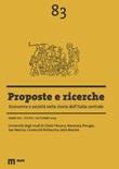 Proposte e ricerche. Economia e società nella storia dell'Italia centrale (2019). Vol. 83: Libro di