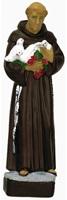 Statua In Materiale Infrangibile Dipinta A Mano Cm 16 - San Francesco Arte sacra