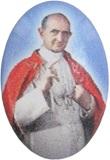 25 Adesivo Resinato Misura 3 - Beato Paolo Vi Oggettistica devozionale