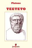 Teeteto Ebook di Platone,Platone