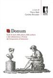 Donum. Studi di storia della pittura, della scultura e del collezionismo a Firenze dal Cinquecento al Settecento Libro di