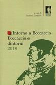 Intorno a Boccaccio/Boccaccio e dintorni 2018 Libro di
