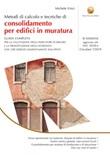 Metodi di calcolo e tecniche di consolidamento per edifici in muratura Ebook di  Michele Vinci