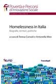 Homelessness in Italia. Biografie, territori, politiche Ebook di