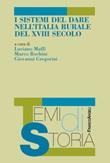 I sistemi del dare nell'Italia rurale del XVIII secolo Ebook di