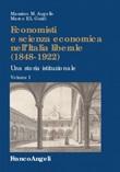 Economisti e scienza economica nell'Italia liberale (1848-1922). Una storia istituzionale Ebook di  Massimo M. Augello, Marco E. L. Guidi