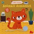 Animali domestici. Libro puzzle. Ediz. a colori Libro di  Rikky Schrever