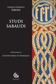 Studi sabaudi Libro di  Giorgio Federico Siboni