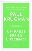Un paese non è un'azienda Libro di  Paul R. Krugman