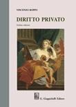 Diritto privato Libro di  Vincenzo Roppo