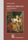 Diritto privato. Linee essenziali Libro di  Vincenzo Roppo