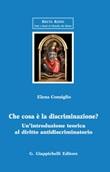Che cosa è la discriminazione? Un'introduzione teorica al diritto antidiscriminatorio Ebook di  Elena Consiglio