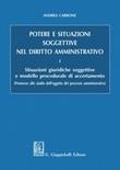 Potere e situazioni soggettive nel diritto amministrativo Ebook di  Andrea Carbone
