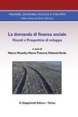 La domanda di finanza sociale. Vincoli e prospettive di sviluppo Ebook di