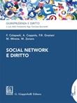 Social network e diritto Ebook di  Francesco Colapaoli, Anna Coppola, Francesca Romana Graziani, Mariarita Mirone, Marco Zonaro
