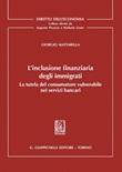 L' inclusione finanziaria degli immigrati. La tutela del consumatore vulnerabile nei servizi bancari Ebook di  Giorgio Mattarella