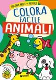 Animali. Colora facile Libro di