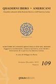 Quaderni Ibero Americani. Attualità culturale della penisola iberica e dell'America Latina. Ediz. italiana e spagnola (2019). Vol. 109: Libro di