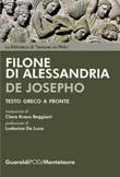De Josepho. Testo greco a fronte Ebook di Filone di Alessandria