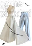 Gonne e pantaloni. Dal cartamodello alla realizzazione pratica Libro di  Anna De Leo