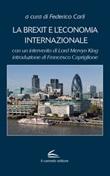La Brexit e l'economia internazionale Libro di