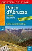 Parco d'Abruzzo. Carta escursionistica 1:25.000 Libro di