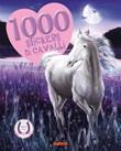 1000 stickers di cavalli Libro di
