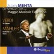 Verdi: Te Deum - Mahler: Sinfonia n. 1 'Titan'