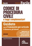Codice di procedura civile e leggi complementari. Guidato con il commento per articolo, il glossario, gli schemi Ebook di  Luigi Tramontano