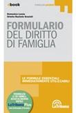 Formulario del diritto di famiglia Ebook di  Domenica Leone, Orietta Rachele Grazioli