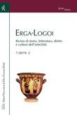 Erga-Logoi. Rivista di storia, letteratura, diritto e culture dell'antichità (2019). Vol. 2: Libro di