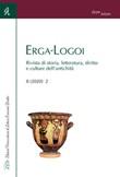 Erga-Logoi. Rivista di storia, letteratura, diritto e culture dell'antichità (2020). Vol. 8-2: Libro di