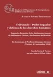 Tribunado-Poder negativo y defensa de los derechos humanos. Segundas jornadas Ítalo-Latinoamericanas de Defensores Cívicos y Defensores del Pueblo Libro di
