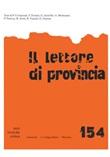 Il lettore di provincia. Vol. 154: Libro di