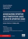 Associazioni sportive dilettantistiche (ASD) e società sportive (SSD) Libro di  Cinzia De Stefanis, Antonio Quercia
