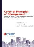 Corso di principles of management Libro di