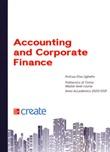 Accounting and corporate finance Libro di