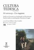 Cultura tedesca. Ediz. italiana e tedesca (2020). Vol. 58: Libro di