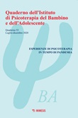 Quaderno dell'Istituto di psicoterapia del bambino e dell'adolescente. Vol. 52: Libro di