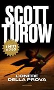 L'onere della prova Libro di  Scott Turow