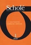 Scholé. Rivista di educazione e studi culturali (2020). Vol. 1: Libro di