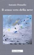 Il senso vero della neve Libro di  Antonio Donadio