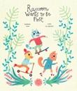 Raccoon wants to be first. Ediz. a colori Libro di  Susanna Isern, Leire Salaberria