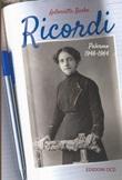 Ricordi. Palermo 1946-1964 Libro di  Antonietta Barba