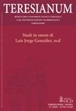 Teresianum. Rivista della Pontificia Facoltà Teologica e del Pontificio Istituto di Spiritualità «Teresianum» (2021). Vol. 1: Libro di