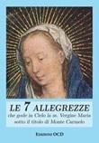 Le sette allegrezze che gode in Cielo la ss. Vergine Maria sotto il titolo di Monte Carmelo Libro di