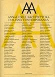Annali dell'architettura italiana contemporanea (1988-1989) Libro di