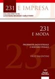 231 e moda. Proprietà industriale e rischio penale Ebook di  Vico Valentini, Vico Valentini