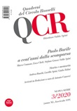 QCR. Quaderni del Circolo Rosselli (2020). Vol. 3: Libro di
